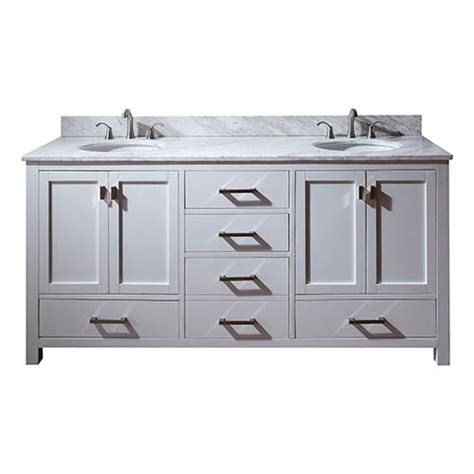 72 inch white bathroom vanity modero white 72 inch double sink vanity with carrera white