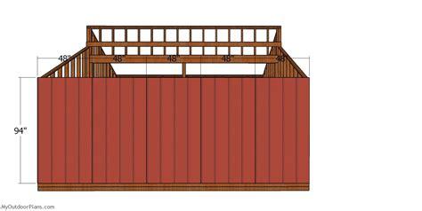 side siding sheets  shed myoutdoorplans