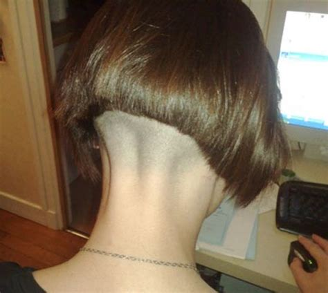 stacked bob nape shaved 1301 best images about napes on pinterest