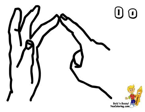 Big Boss British Sign Language Bsl Free Sign Language Sign Language Coloring Pages