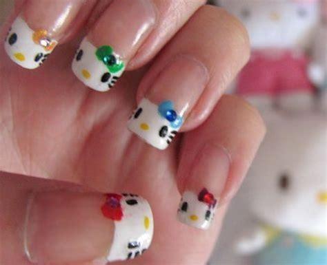 imagenes de uñas acrilicas de kitty decoraci 243 n u 241 as hello kitty