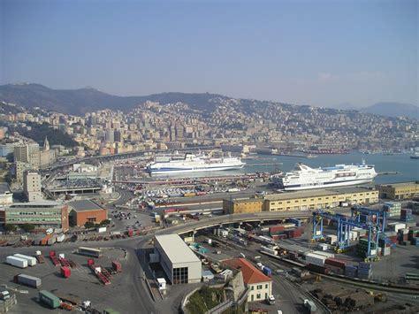 foto porto di genova file panorma di genova porto jpg wikimedia commons