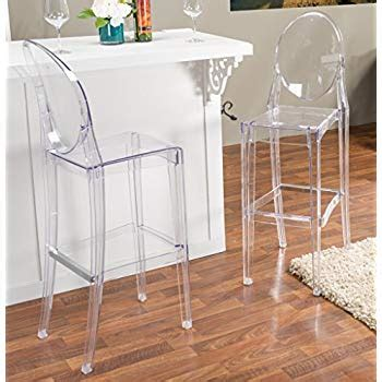 Modway Casper Counter Stool by Modway Casper Counter Stool In Clear Kitchen