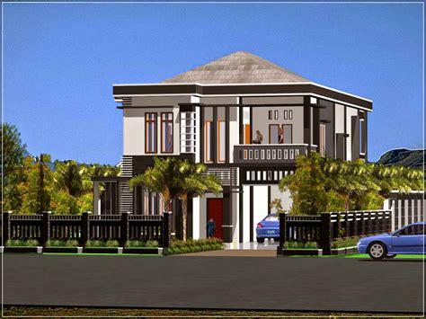 konsep desain rumah mewah minimalis modern   ilmutekniksipilcom