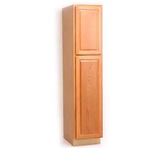 especiales de home depot gabinete alacena 18 quot x84 quot med oak en http www homedepot