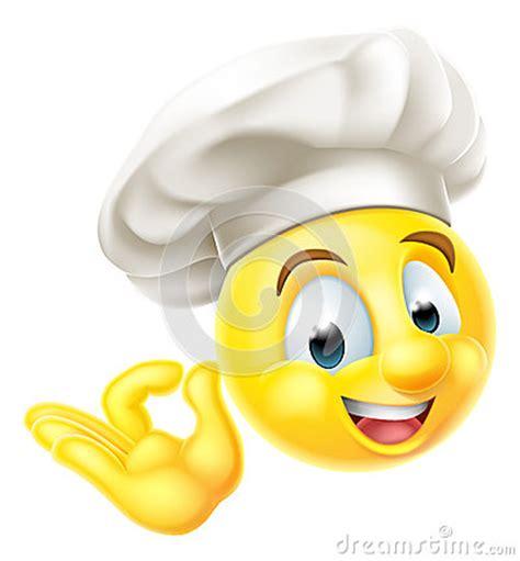 kitchen emoji chef cook emoji emoticon stock vector image 57767313