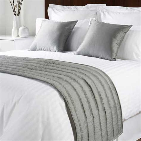 bed runners sicily design quilted bed runner high quality faux silk