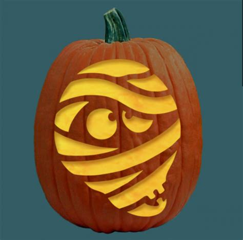 Mummy Jack O Lantern Template 10 of the best pumpkin carving stencils for