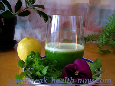 Cilantro Detox Drink by Detox Your Quickly And Easily