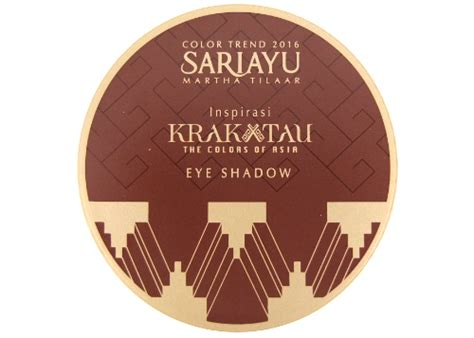 Eyeshadow Sariayu Krakatau review sariayu color trend 2016 inspirasi krakatau eye