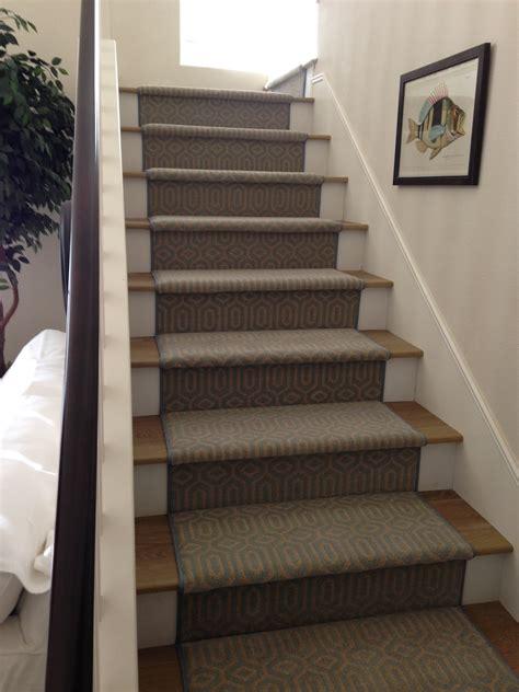Oak Trellis Stanton Atelier Miro Ocean Stair Runner Hemphill S Rugs