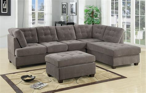 grey suede sofa poga grey suede sectional sofa