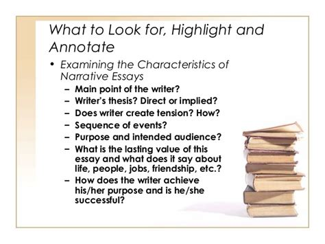 Essay About Characteristics You Look For In A Friend by Introduction To Narrative Essays