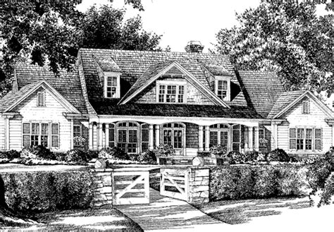 Mitch Ginn House Plans Everett Place Mitchell Ginn Print Southern Living