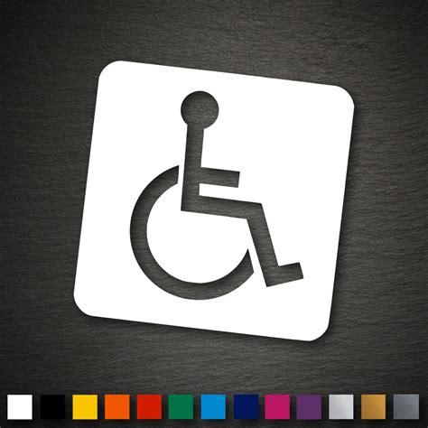 Rollstuhl Aufkleber Für Auto Kaufen by 14048 Rollstuhl Aufkleber 100x100mm Rollstuhlfahrer