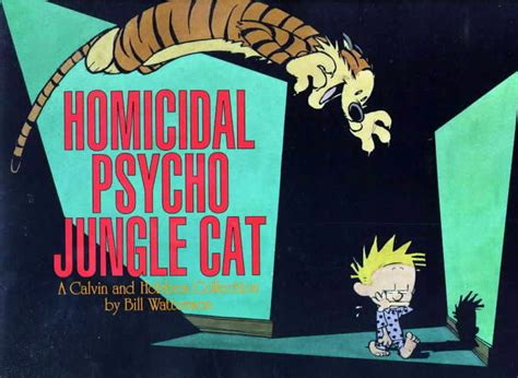 homicidal psycho jungle cat the calvin and hobbes wiki