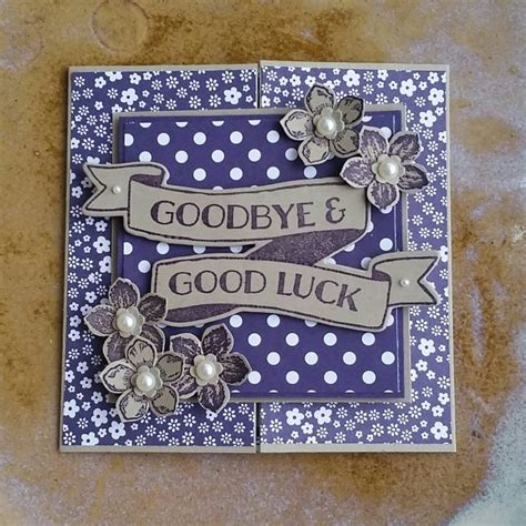 Goodbye Handmade Cards - best 25 goodbye cards ideas on farewell card