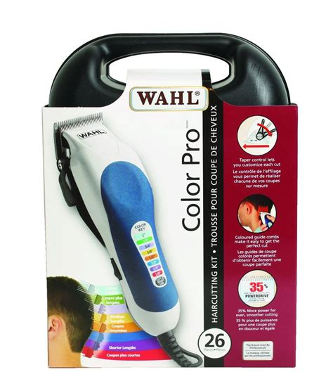 wahl color pro buy wahl color pro haircutting kit 26 pieces from value valet
