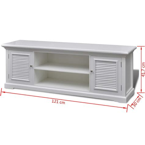 white wooden white wooden tv stand vidaxl co uk