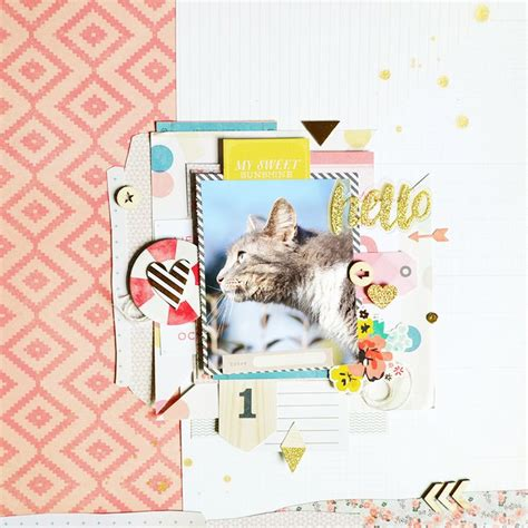 Challenge Use Themed Papers For Non Themed Layouts 3 by 368 Best Pets And Animals Images On Scrapbook