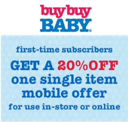 offer for black friday in amazon get 20 off one single item from buy buy baby when you