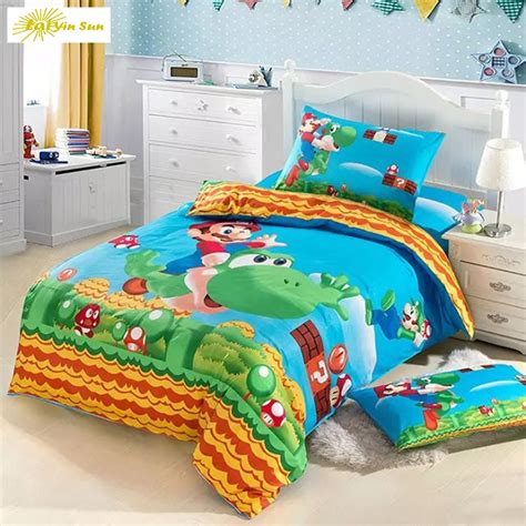 queen size kid bedroom sets 3d bedding set game kids bed set twin full queen size 2