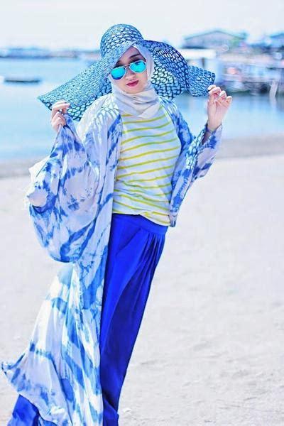 Celana Buat Ke Pantai ini dia 6 trik til modis dengan ke pantai muslim beautynesia