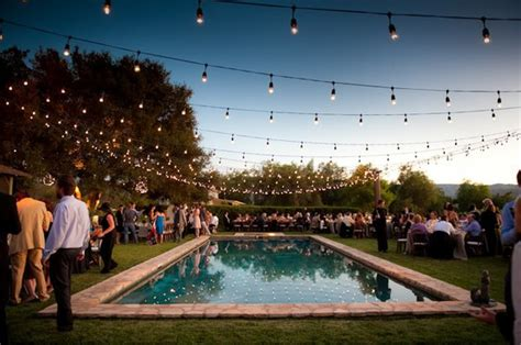 backyard pool party pool party wedding the preppy planner