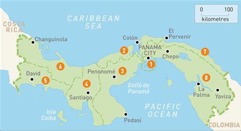 panama city panama map map of panama panama regions guides guides