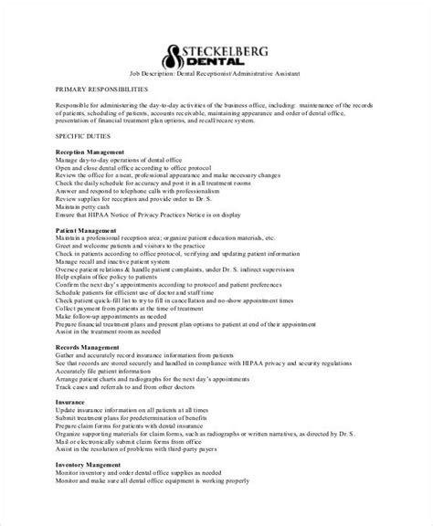 Description For A Dentist by 10 Sle Dentist Description Templates Pdf Doc Free Premium Templates