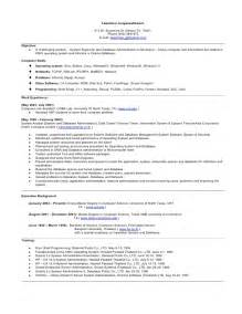 Sle Resume Ms Word by Resume Microsoft Word Format Doc