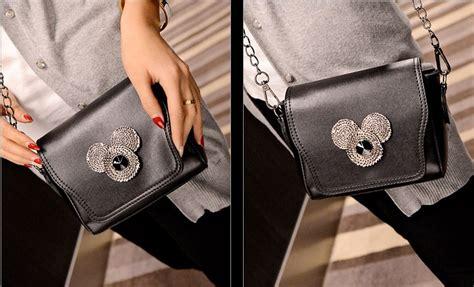 Rantai Tas Hitam Kecil 1 Meter jual tas selempang rantai mickey kecil tali hitam cantik wanita bahu the logos