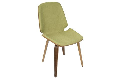 serena mid century modern dining chairs in green set of