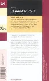 Resume Du Livre Jeannot Et Colin De Voltaire by Livre Jeannot Et Colin Voltaire