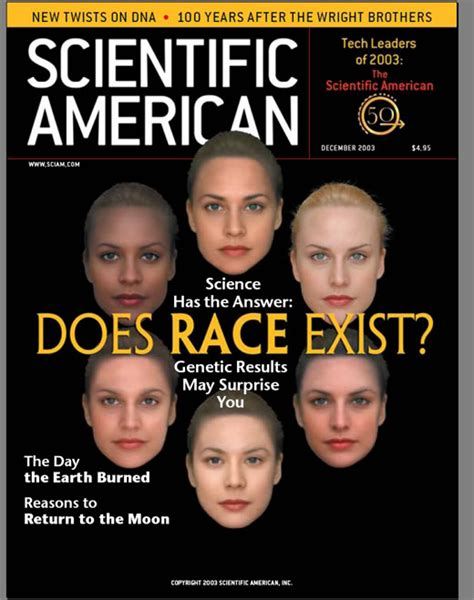 The American Run Scientific American On The Reality Of Race Counter Currents Publishing