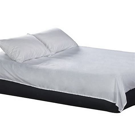 ez bed airbed microfiber sheet set in white bed bath beyond
