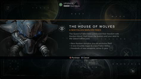 house of wolves expansion destiny house of wolves expansion exposed via image