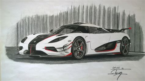 koenigsegg one drawing koenigsegg one 1 crowart14 draw to drive