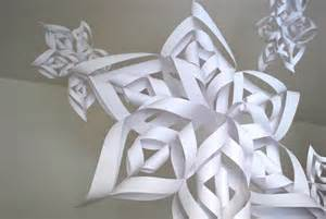 A Out Of Paper - best photos of 3d paper snowflake templates 3d paper