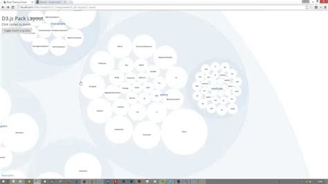 pack layout d3 js react d3 js animated pack layout youtube
