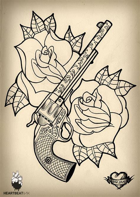new school tattoo gun one love heartbeatink tattoo magazine