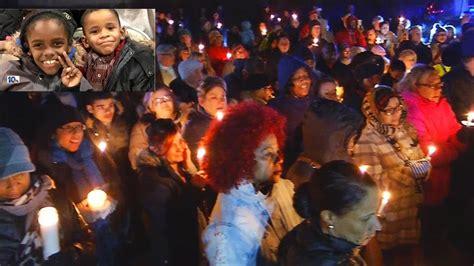 Vigil Held For Hudsons Slain Family Members by Vigil Held For Boys Allegedly Killed By Their