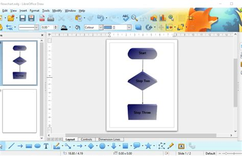 open source flowchart software windows how to set up a flowchart with the libreoffice draw