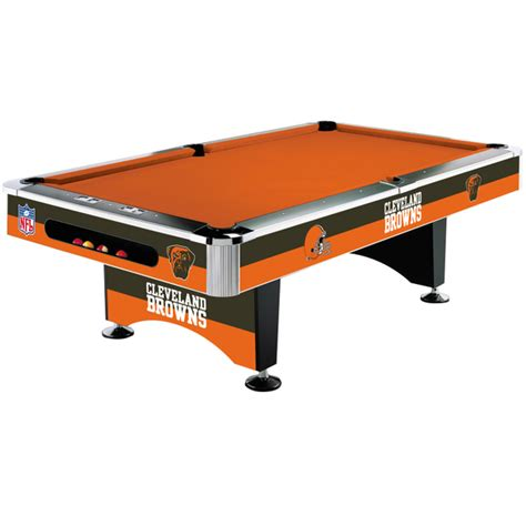 new imperial nfl cleveland browns 8 foot pool billiard