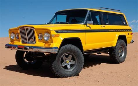jeep cherokee yellow jeep cherokee chief sj jeep cherokee sj pinterest