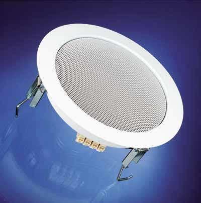 Installing Ceiling Speakers In Drop Ceiling by Soundlabs Dl 18 1 Ral 9016 100v