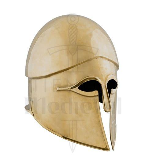 capacete corintio em bronze  seculo vii capacetes gregos