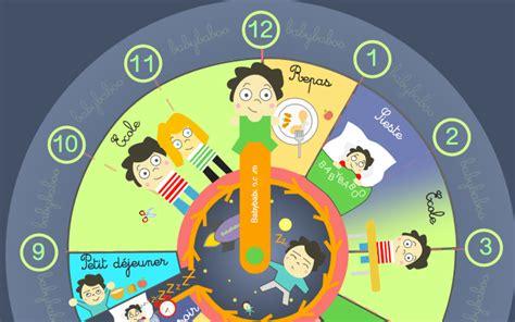 horloge enfant l enfant et le temps horloge de la journ 233 e babybaboo