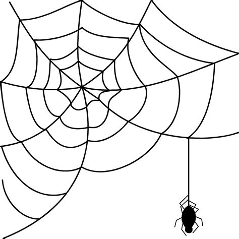 Spider web spiders web clip art clipart clipartcow - Clipartix Free Clipart On The Web