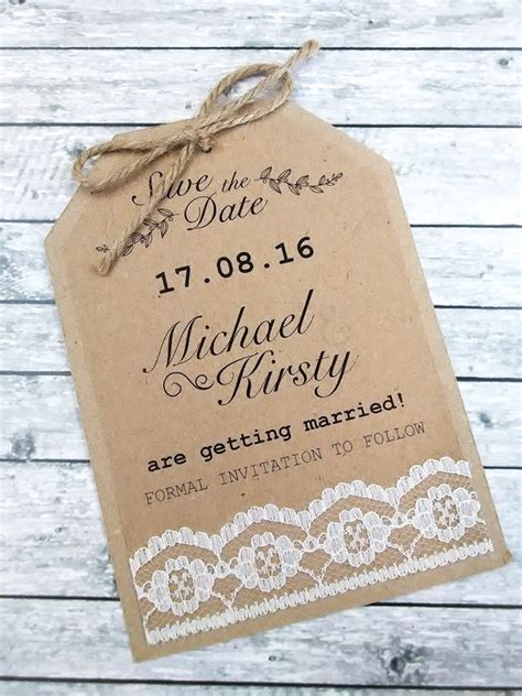 printable save the date luggage tags options for rustic lace luggage tag save the date card